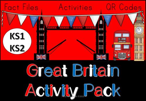 Great Britain Activity Pack (KS1/KS2)