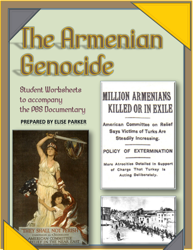 Armenian Genocide Worksheet: armenian genocide student viewing worksheets pdf format by ,