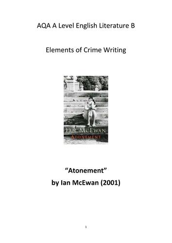 atonement literary analysis