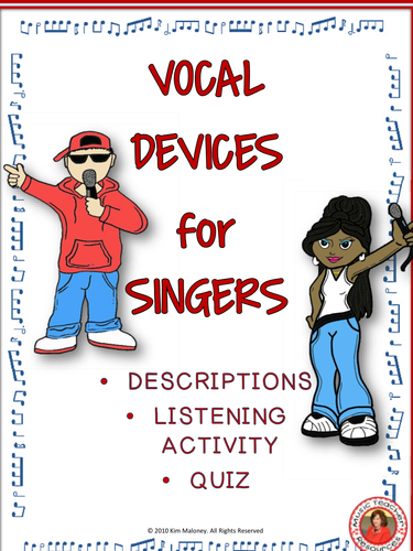 Vocal Devices - Explanation, Listening Activity and Quiz