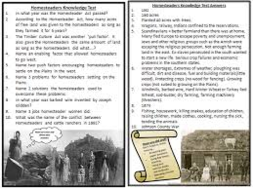 Crime and Punishment and American West Revision Resources