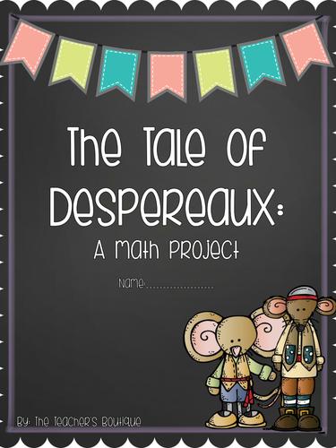 unit 1 week 3 tale of despereaux castle worksheets