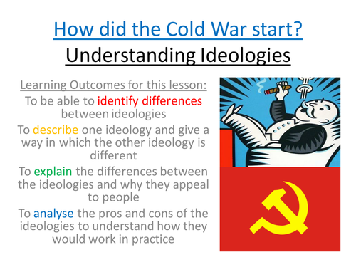 Intro to the Ideologies of the Cold War: Communism and Capitalism
