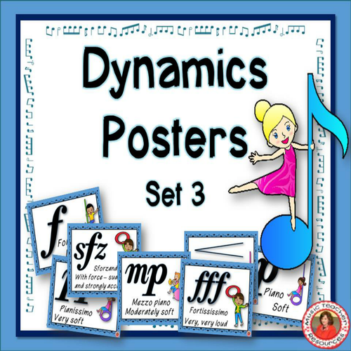 Classroom Decor Resources ~ Music classroom decor set class rules posters by