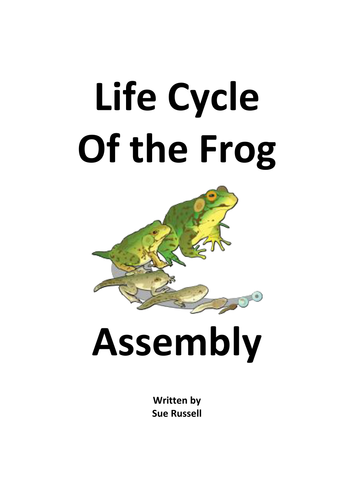 Frog Life Cycle Assembly