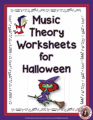 Halloween Music Worksheets by AussieMusicTeacher - Teaching ...