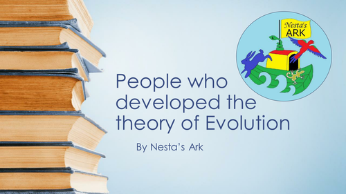 Powerpoint cataloguing the important people in Evolution