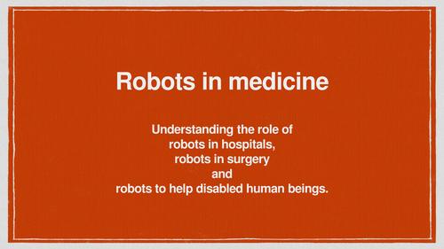 Designing a medical robot