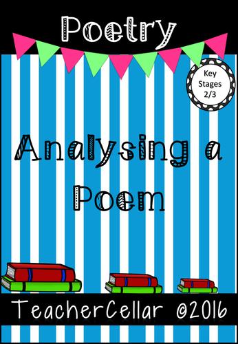 Analysing A Poem