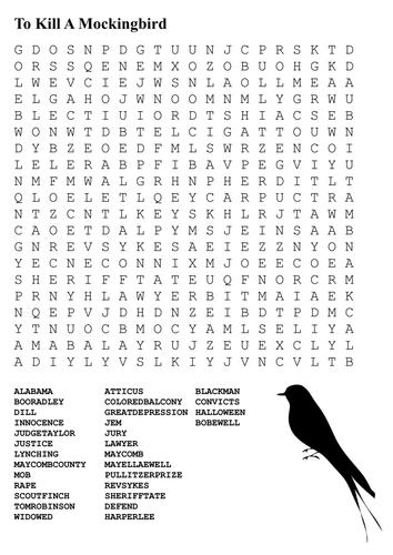 a clockwork orange by anthony burgess by tesenglish teaching to kill a mockingbird word search