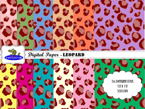 Leopard Digital Paper