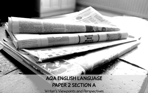 English Language Paper 2 Section A (Collection 1- War) AQA GCSE