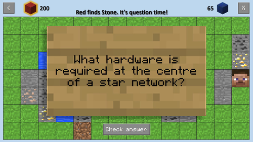 """Mindcraft"" - Easily Customised PowerPoint Class Quiz With Minecraft Theme"