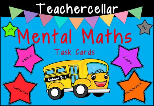 Mental Maths Task Cards KS1