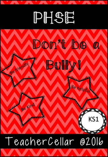 PSHE Anti-Bullying  Workbook