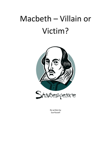 macbeth villain or victim Macbeth - victim or villain thursday, may 24, 2007 posted by philip at 8:30 pm no comments: wednesday, may 23, 2007 macbeth is a dynamic character and turns out to.