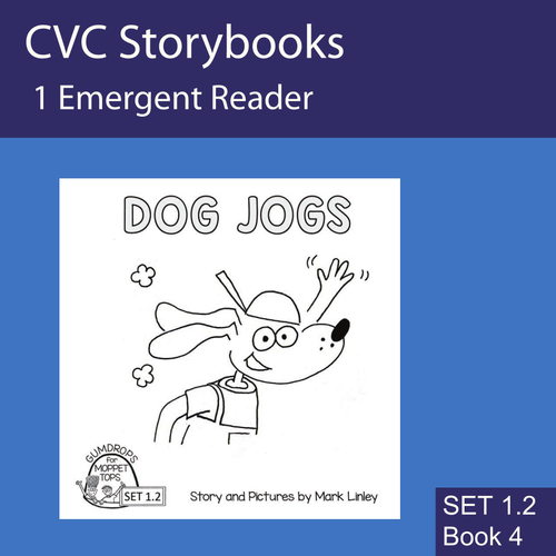 DOG JOGS - FREEBIE - CVC Emergent Reader