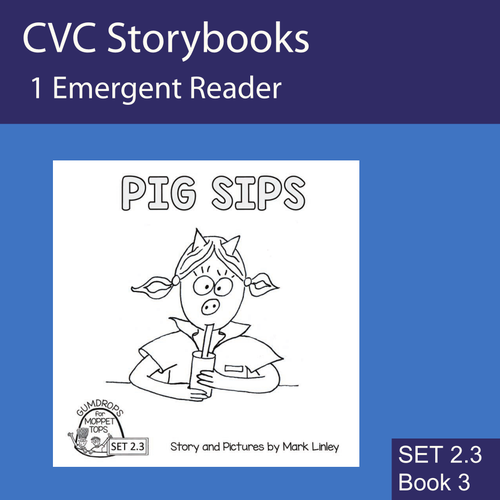 PIG DIGS - FREEBIE - CVC Emergent Reader