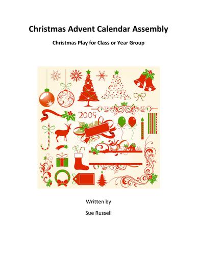 Christmas Advent Calendar Assembly