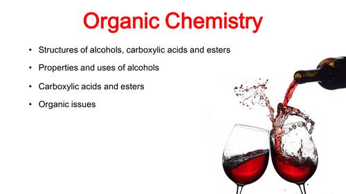 Organic Chemistry GCSE Chemistry