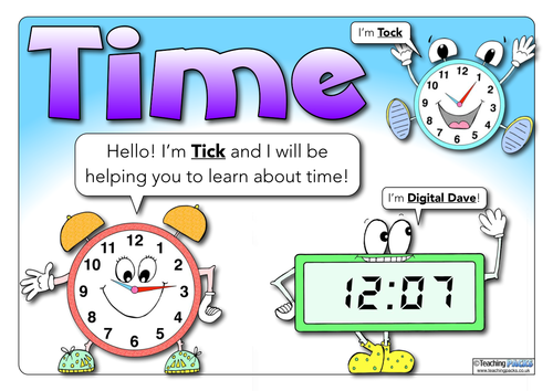 Time - Teaching Guide and Posters