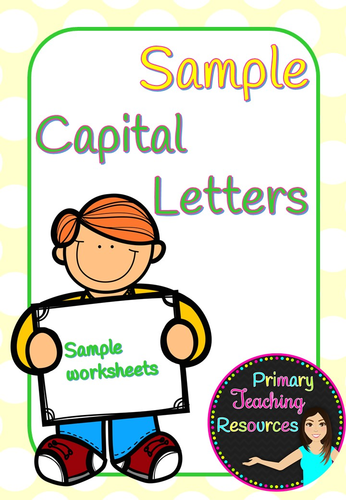 Primaryteachingresourcess shop teaching resources tes capital letters sample ks1 activities stopboris Images