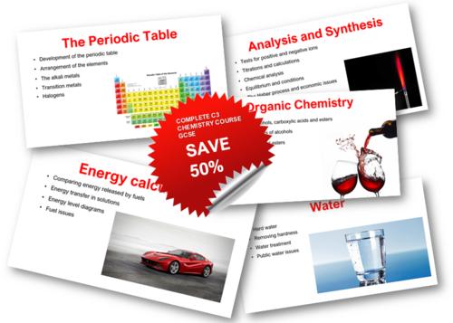 AQA C3 GCSE Chemistry COMPLETE Teaching