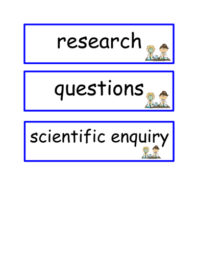 New Curriculum Scientific Vocabulary LKS2 Lower Key Stage 2 Year 3 / Year 4