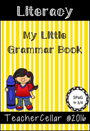 My Little Grammar Book