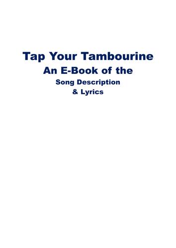Tambourine Playing Song