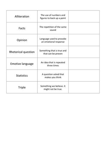 AFOREST Worksheet - Differentiated
