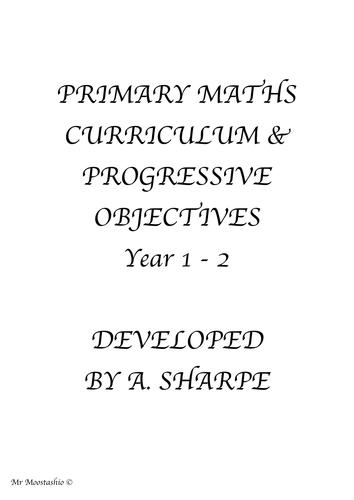 Maths Progressive Objectives Year 1-2