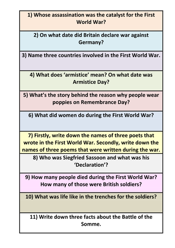 ks3 ks4 ww1 poetry context research by debzy87 teaching resources. Black Bedroom Furniture Sets. Home Design Ideas