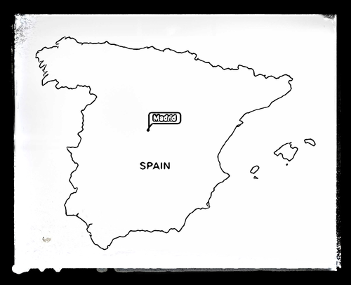 spain map coloring pages - photo#8
