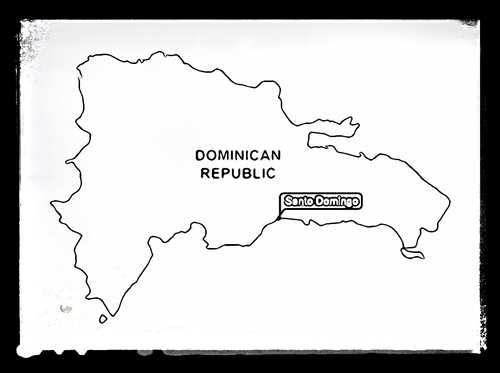 Geography maps for colouring by starteducation teaching for Dominican republic coloring pages