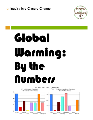 Earth Day: Global Warming and Climate Change by the Numbers