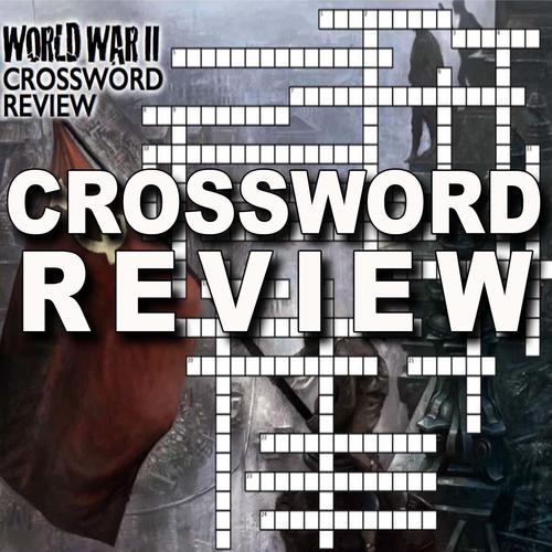 World War II Crossword Puzzle Review WWII By Bigideas123