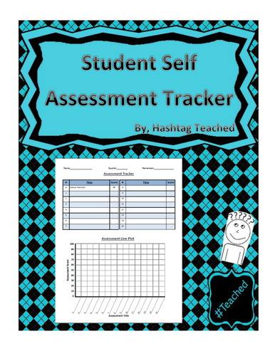student assessment tracker template by hashtag teached teaching