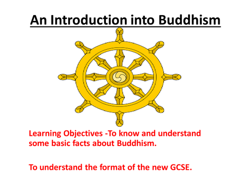 Resources to go with Unit/Scheme of Work for New Aqa Spec A Religious Studies Buddhism