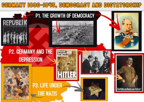 Democracy and Dictatorship poster