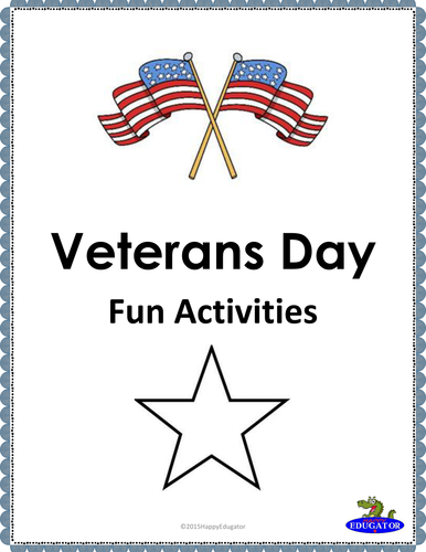 Veterans Day Fun Activities