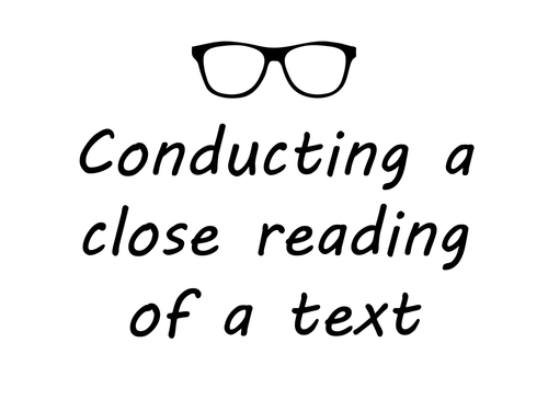 KS3 / KS4 English - Spoken Language - Conducting a Close Reading of a Transcipt - Inference