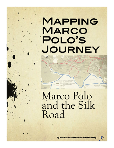 Marco Polo And The Silk Road Mapping A Journey By Docrunning