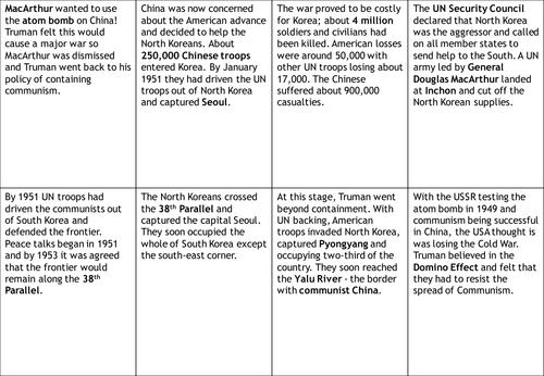 Printables Korean War Worksheet korean war worksheet by sjhistory teaching resources tes preview resource