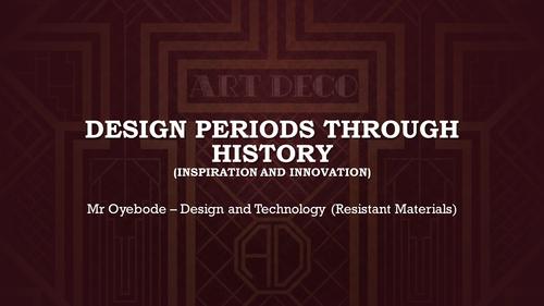 GCSE Design Technology: Year 10 Mocks Revision General ... - photo#29