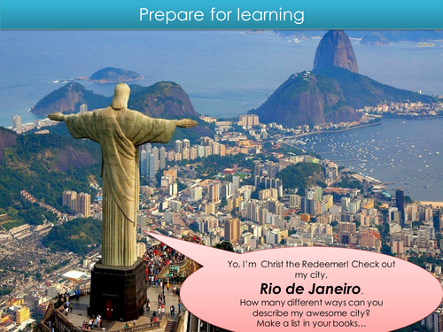 LEDC / LIC city Rio (introduction)- Urban - GCSE AQA Geography