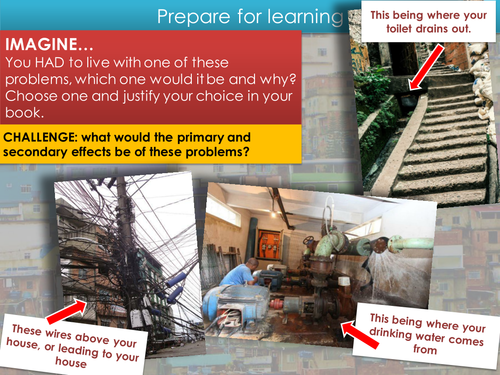 LEDC / LIC Rio (social challenges and opportunities) - Urban - GCSE AQA Geography