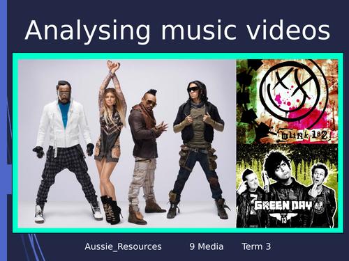Practice analysing music videos