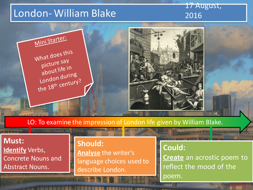 London- William Blake