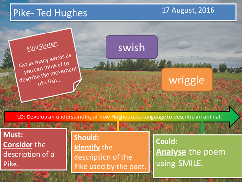 Pike- Ted Hughes